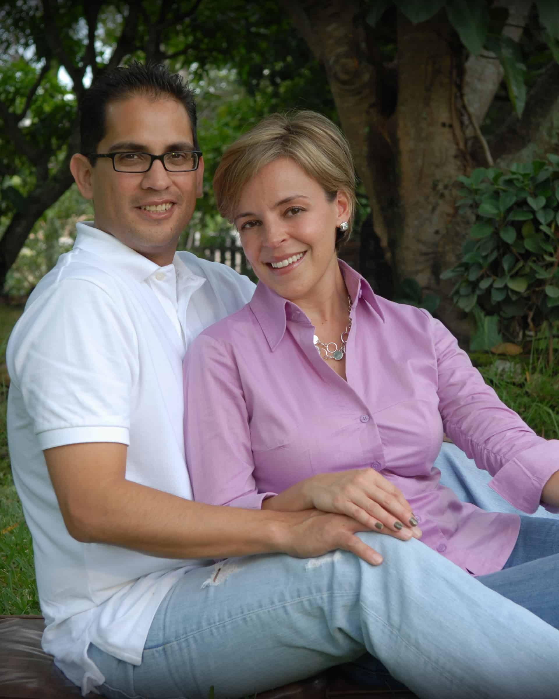 Susan Salgado and husband